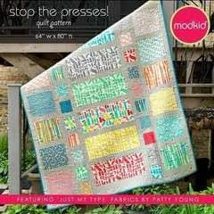 Stop The Presses Quilt Pattern By Modkid