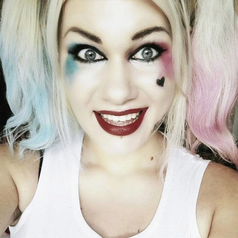 Suicide Squad Harley Quinn Makeup Look Beauty Cut