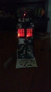 Doctor Who Memorial Tardis .  Create art / a model in under 120 minutes using glue gun, box, and paints. Creation posted by Michele B.  in the Other section Difficulty: Simple. Cost: Absolutley free.