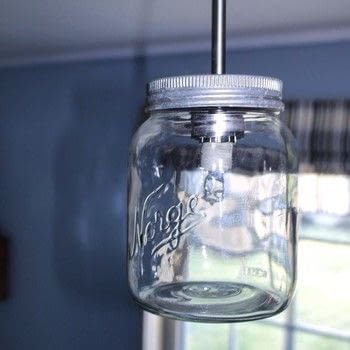 Lamp .  Free tutorial with pictures on how to make a bottle lamp in under 20 minutes using mason jar and lamp cord. How To posted by Gunhild N. .  in the Home + DIY section Difficulty: Easy. Cost: Absolutley free. Steps: 3