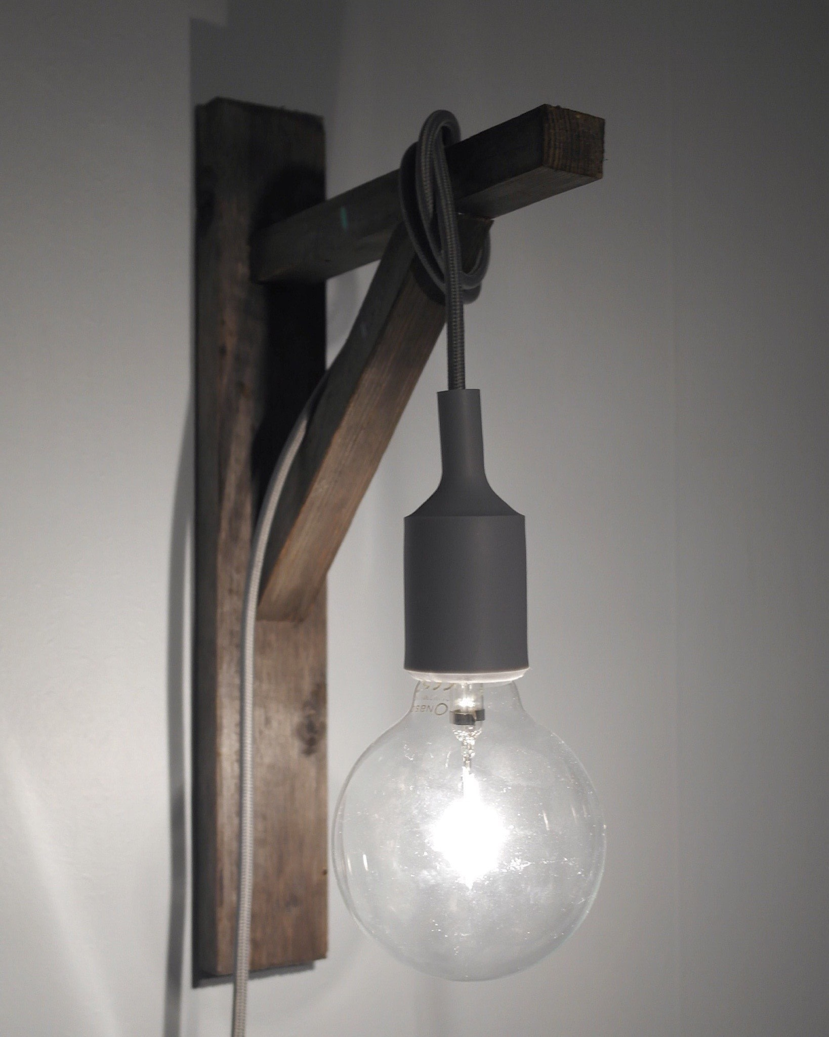 Delightful Bedroom Lamp . Free Tutorial With Pictures On How To Make A Lamp /  Lampshade In