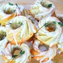 Lemon Thyme Bundt Cakes