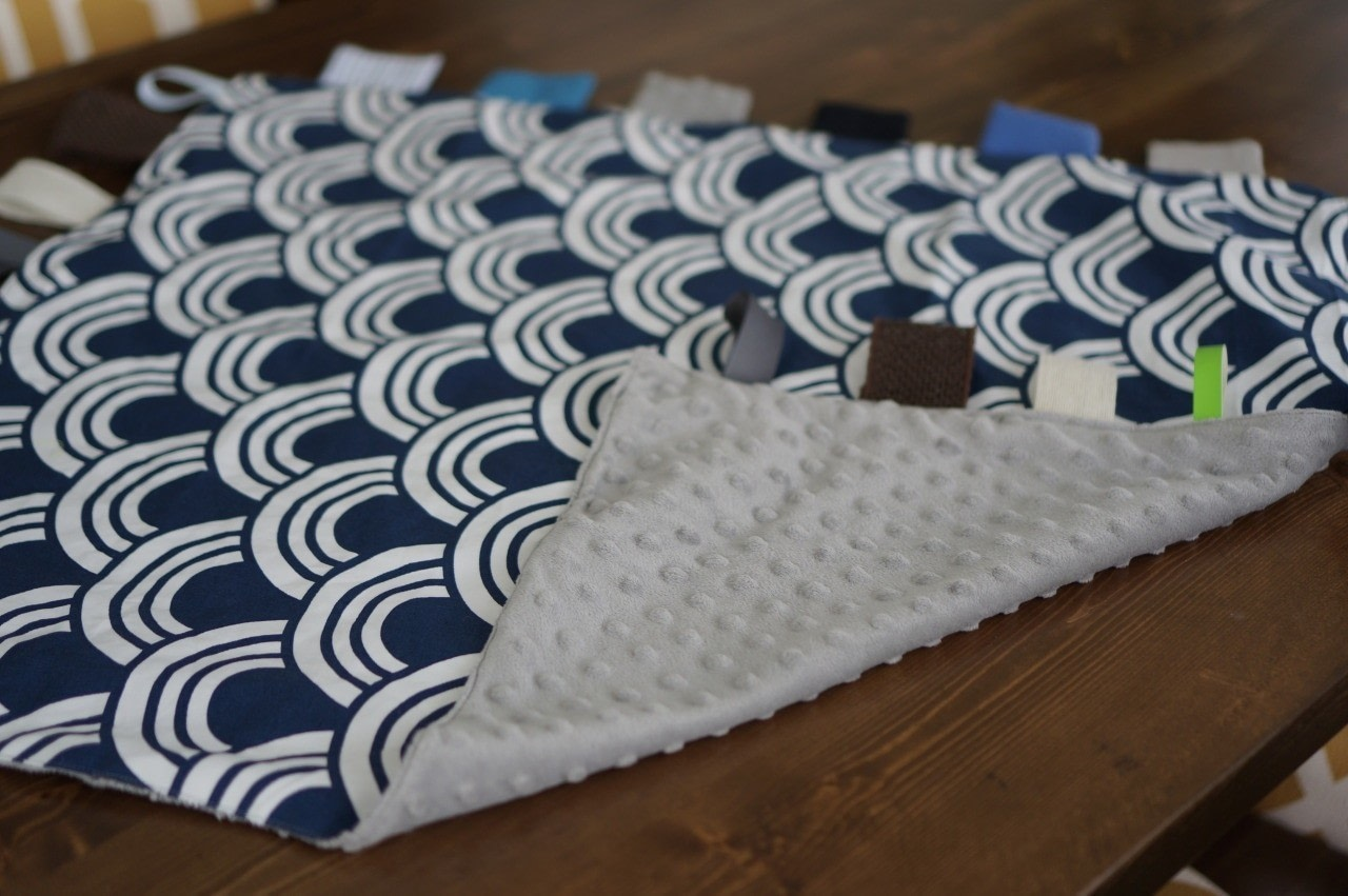 Diy Baby Sensory Blanket 183 How To Make A Quilted Blanket
