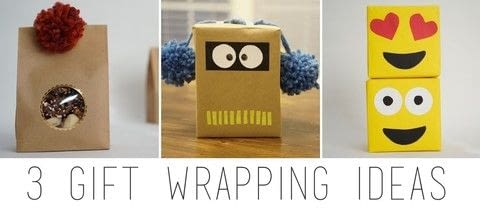 Make gift giving fun! .  Free tutorial with pictures on how to make gift wrap in under 60 minutes using pompoms. How To posted by Bernice.  in the Decorating section Difficulty: Easy. Cost: No cost. Steps: 5