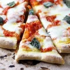 Simple Margherita Pizza