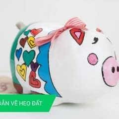How To Decorate/Draw On Piggy Bank