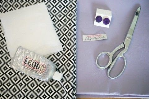 Create a trendy, carry-all envelope-style clutch without sewing a stitch! .  Free tutorial with pictures on how to make an envelope clutch in under 40 minutes by fusing and not sewing with pencil, iron, and vinyl. Inspired by clothes & accessories and purple. How To posted by Kristi P.  in the Other section Difficulty: Easy. Cost: Cheap. Steps: 10