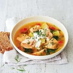 Laxsoppa (Swedish Fish Soup)