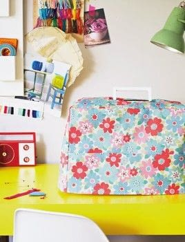 Cath Kidston Sewing Book .  Free tutorial with pictures on how to make a sewing machine covers in under 180 minutes by sewing with templates, fabric, and sewing thread. Inspired by cath kidston. How To posted by Quadrille.  in the Sewing section Difficulty: Simple. Cost: Cheap. Steps: 8