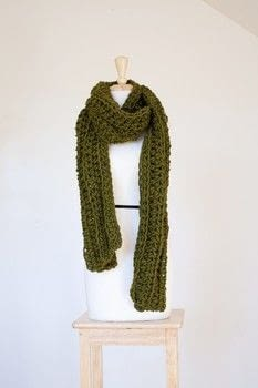 Crochet Pattern: Centennial Scarf .  Free tutorial with pictures on how to make a knit scarf / crochet scarf in under 120 minutes by crocheting with yarn and crochet hook. How To posted by Shop Showcase.  in the Yarncraft section Difficulty: Simple. Cost: Cheap. Steps: 1