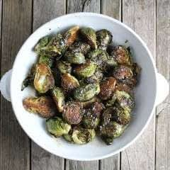 Balsamic Glazed Brussels Sprouts   Taste And See