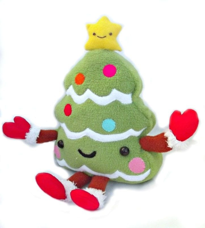 Kawaii Christmas Tree 183 A Character Plushie 183 Sewing On