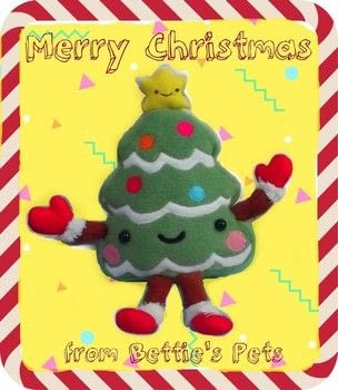 'Oh, Squish-mas tree..' .  Make a character plushie in under 180 minutes using fleece, fiberfill, and felt. Inspired by christmas, japanese, and kawaii. Creation posted by Bettie.  in the Sewing section Difficulty: 3/5. Cost: 3/5.