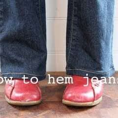 Hem Your Own Jeans