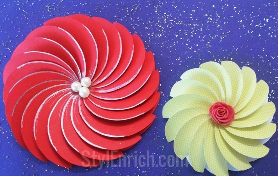 How to make easy paper flowers for diy projects how to cut a piece free tutorial with pictures on how to cut a piece of mightylinksfo