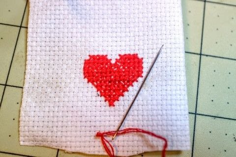 Step by step instructions on how-to cross stitch .  Free tutorial with pictures on how to cross stitch  in under 30 minutes by cross stitching with aida cloth, embroidery floss, and embroidery needle. How To posted by Cat Morley.  in the Needlework section Difficulty: Simple. Cost: Absolutley free. Steps: 16