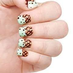 Ice Cream Cone Nails