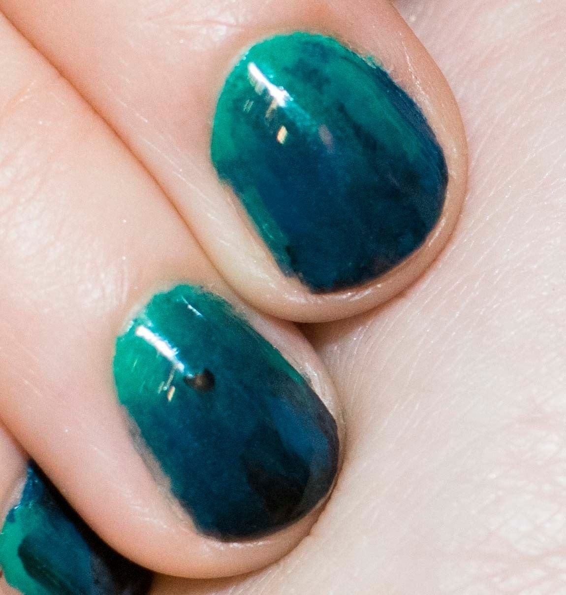 Under The Sea Nails · How To Paint A Gradient Nail · Beauty on Cut ...