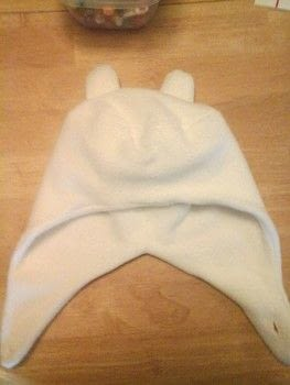 It's ADVENTURE TIME! .  Make a hat in under 60 minutes using fleece. Inspired by adventure time. Creation posted by PineconePrincess.  in the Sewing section Difficulty: Easy. Cost: Cheap.