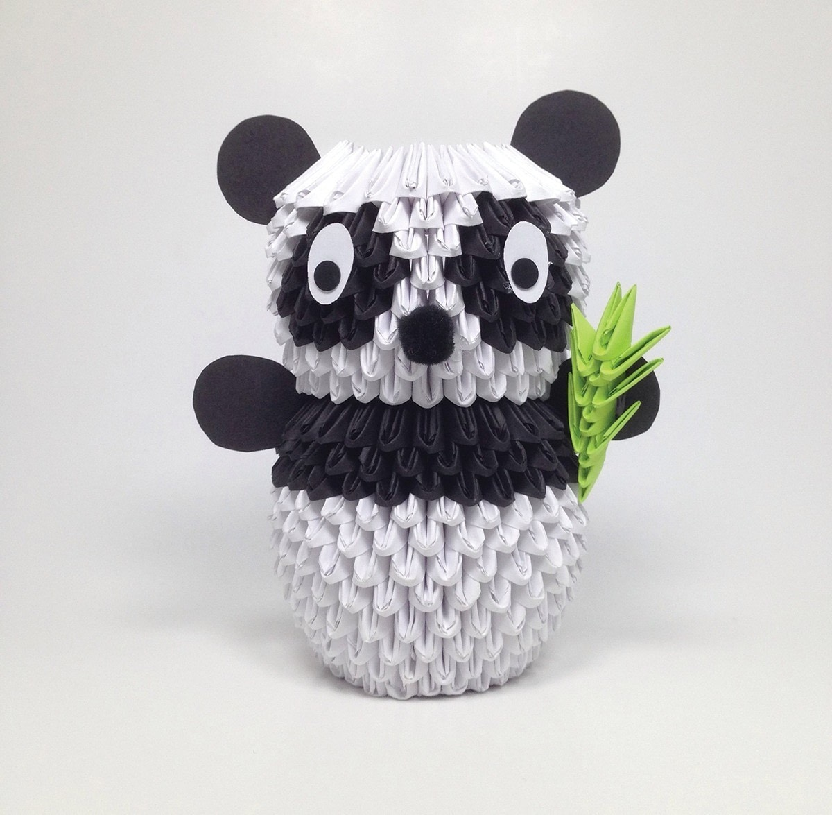 3D Origami Panda · Extract from 3D Origami Fun! by ... - photo#1