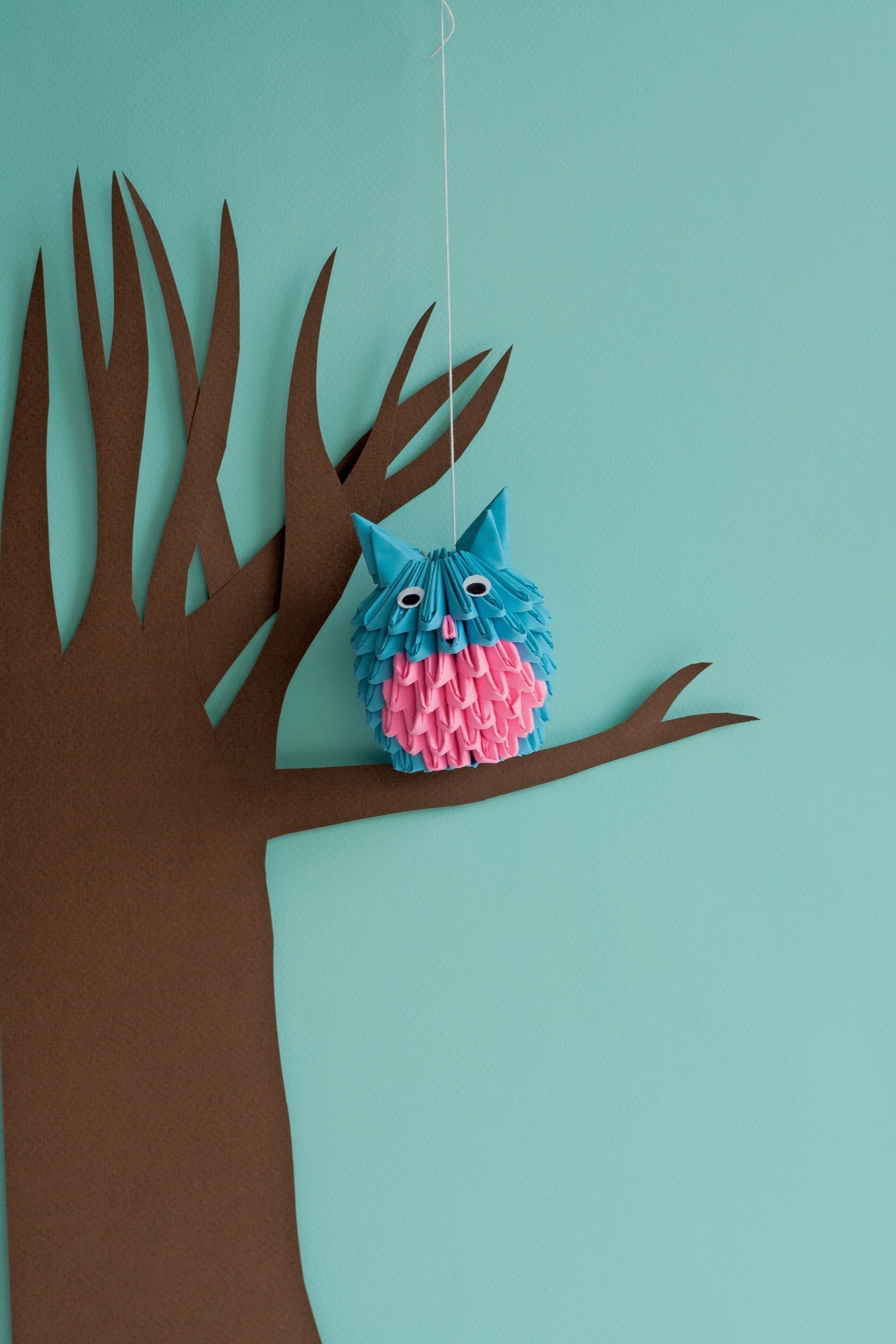 3 D Origami Owl · Extract from 3D Origami Fun! by ... - photo#40
