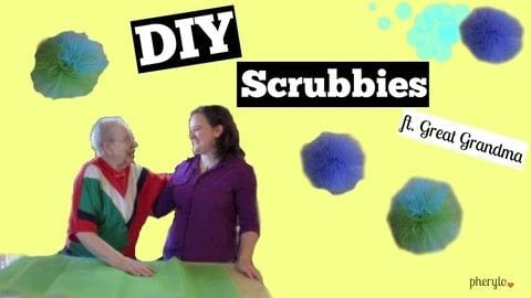 Make scrubbies for all occasions! .  Free tutorial with pictures on how to make an ornament in under 20 minutes using scissors, crochet thread, and darning needle. How To posted by Cheryl .  in the Sewing section Difficulty: Simple. Cost: Cheap. Steps: 1