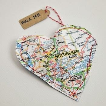 His is a really easy craft where you can make something quite special by upcycling maps that have meaning for you. .  Free tutorial with pictures on how to make a gift bag in under 15 minutes by sewing with map, cookie cutter, and pens. Inspired by gifts and valentine's day. How To posted by pillarboxblue.  in the Papercraft section Difficulty: Easy. Cost: Absolutley free. Steps: 5