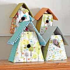 Fabric Birdhouse
