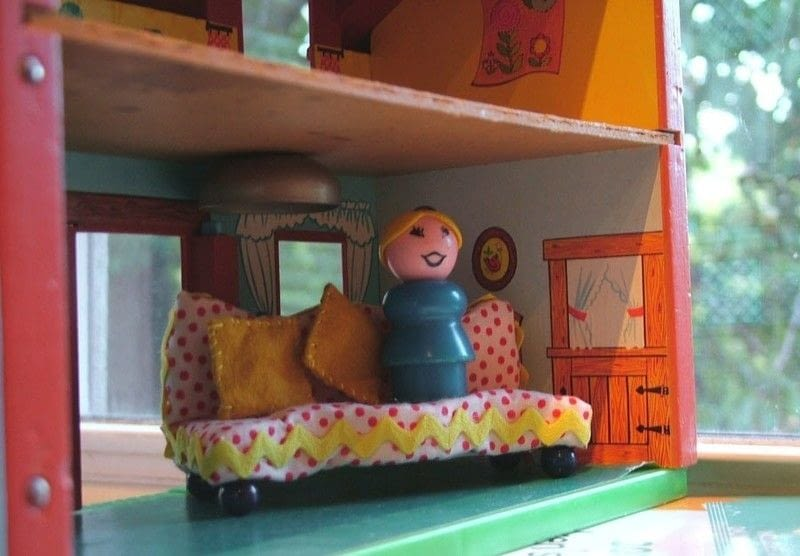 Simple Dollhouse Sofas 183 How To Make A Piece Of Doll