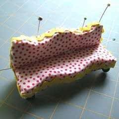 Simple Dollhouse Sofas