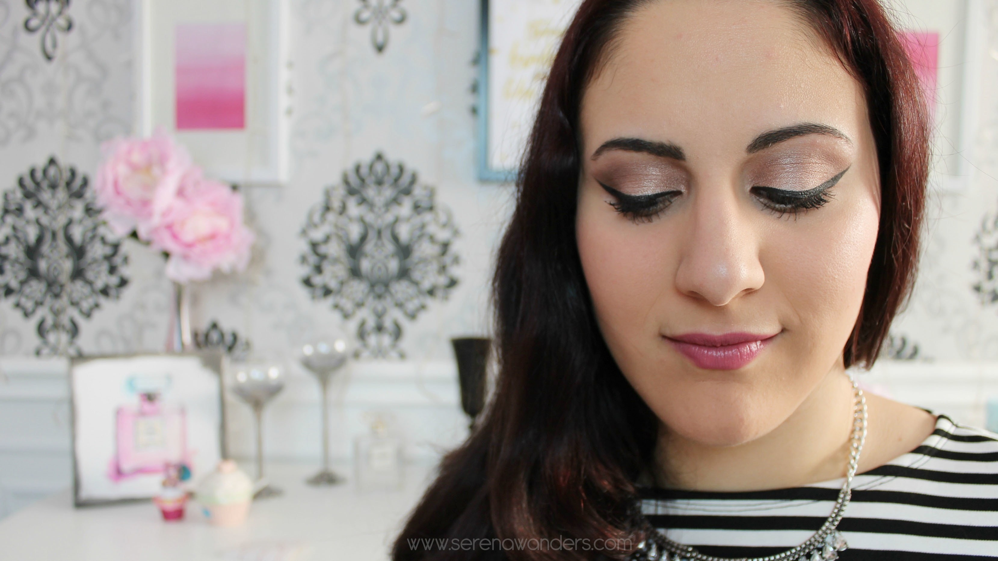 Everyday makeup look feat the urban decay naked palette how to everyday makeup look feat the urban decay naked palette how to create a pink eye makeup look beauty on cut out keep baditri Image collections