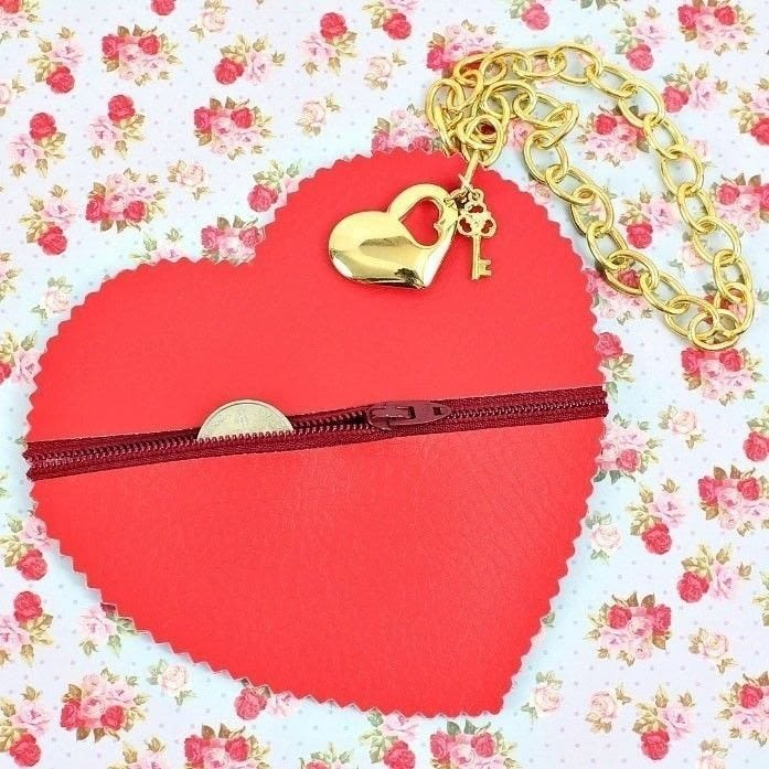 No Sew Heart Coin Purse 183 How To Make A Bag 183 Sewing On