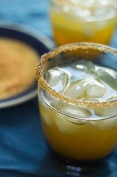 Apple cider margaritas .  Free tutorial with pictures on how to mix a margarita in under 5 minutes by mixing drinks with apple cider, tequila, and triple sec. Recipe posted by Golden Brown and Delicious | Jessica D.  in the Recipes section Difficulty: Easy. Cost: Cheap. Steps: 3