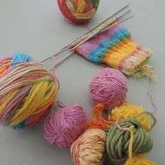 Make A Magic Yarn Ball