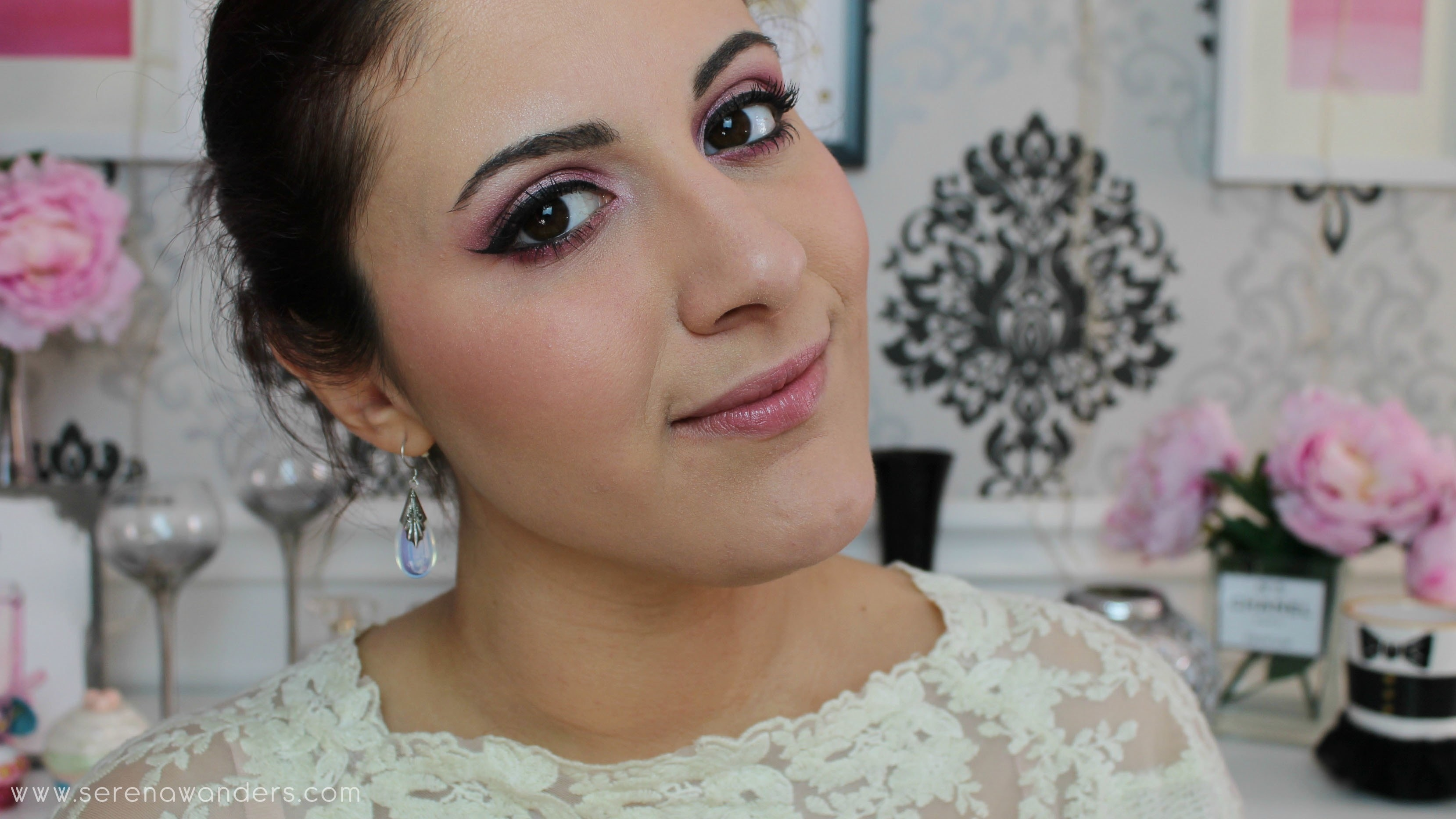 Valentine S Day Makeup Tutorial Pink Ombre Eyes How To