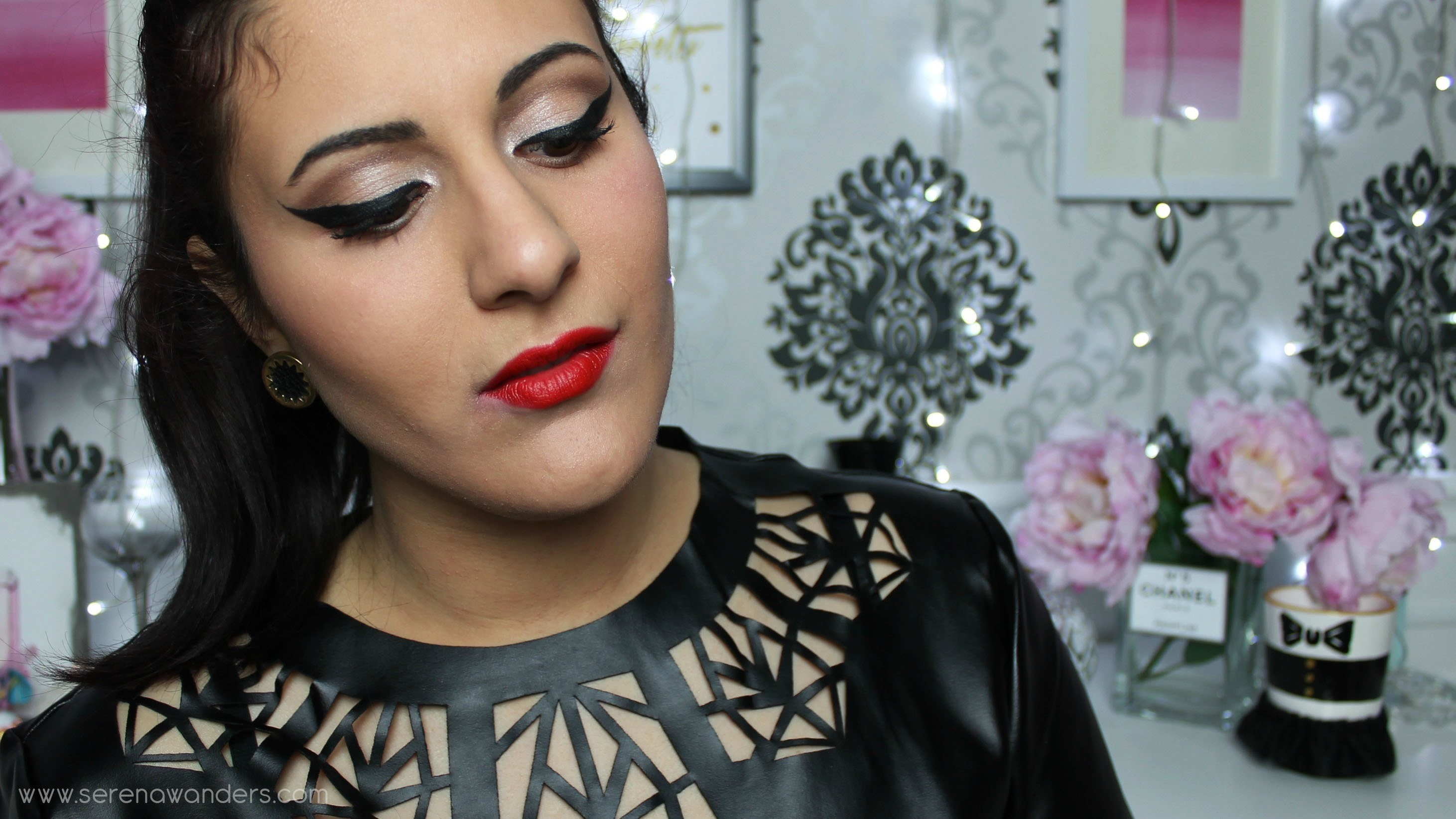 Valentine S Day Makeup Tutorial Bold Red Orange Lips And Soft