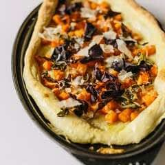 Flatbread With Butternut Squash And Smoked Dulse