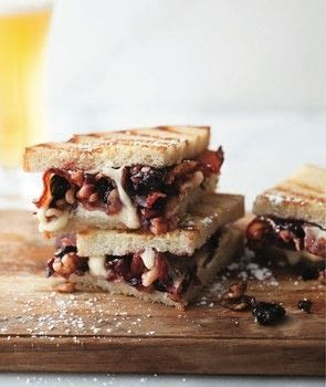 Nuts .  Free tutorial with pictures on how to cook a grilled cheese sandwich in under 45 minutes by cooking with cherries, jam, and grand marnier. Recipe posted by GMC Group.  in the Recipes section Difficulty: Simple. Cost: Cheap. Steps: 3