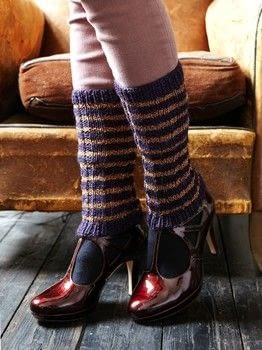 Simple Chic Knits .  Free tutorial with pictures on how to make legwarmers in under 120 minutes by knitting with yarn, knitting needles, and sewing needle. How To posted by Ryland Peters & Small.  in the Yarncraft section Difficulty: Simple. Cost: Cheap. Steps: 3
