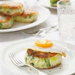 Bubble And Squeak Potato Cakes