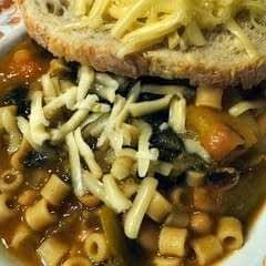 "White Bean And Escarole ""Stoup"""