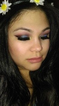 Colorful smokey eye .  Free tutorial with pictures on how to create a smokey eye in under 15 minutes by applying makeup with eyeshadow primer, eyeshadow, and venus ii. How To posted by Brittny H.  in the Beauty section Difficulty: Simple. Cost: 4/5. Steps: 7