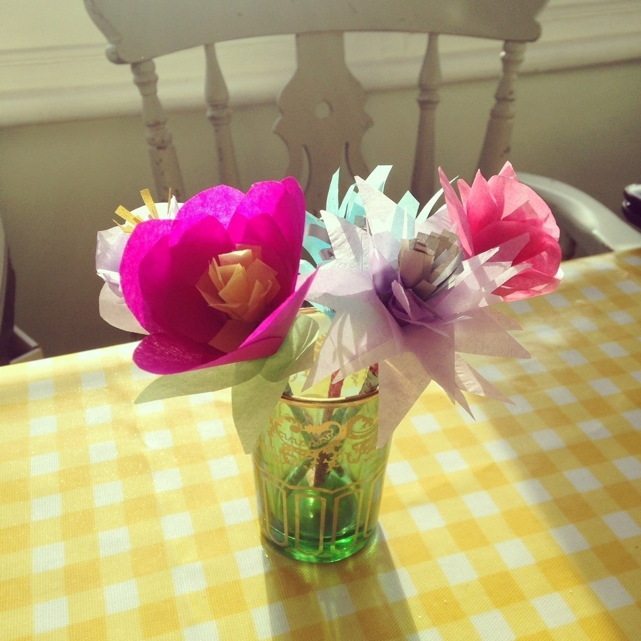 Tissue Paper Flowers How To Make A Paper Flower Papercraft On