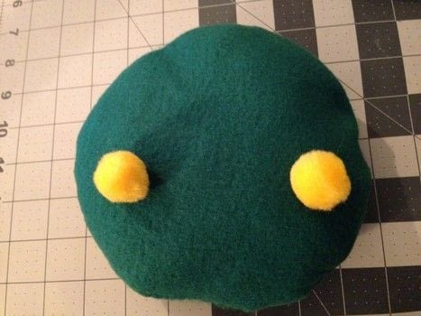 Make your own Tonberry pillow to cuddle with .  Free tutorial with pictures on how to sew a computer game plushie in under 60 minutes using stuffing, fleece, and chalk. Inspired by final fantasy. How To posted by RandomActsOfCreations.  in the Sewing section Difficulty: Simple. Cost: 3/5. Steps: 7
