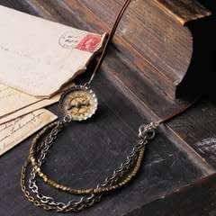 Bottle Cap Watch Necklace
