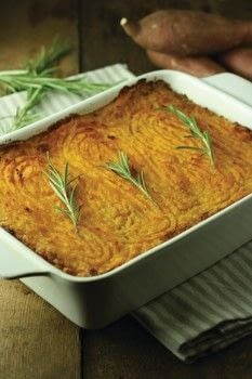 Love Food .  Free tutorial with pictures on how to cook a cottage pie in under 35 minutes by cooking with sweet potatoes, olive oil, and onion. Recipe posted by Blink Publishing.  in the Recipes section Difficulty: Simple. Cost: Cheap. Steps: 6