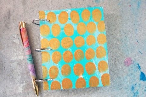 .  Free tutorial with pictures on how to make a notebook journal in under 60 minutes by creating and papercrafting with scissors, paper cutter, and cardboard. Inspired by gifts. How To posted by Jennifer McCully.  in the Papercraft section Difficulty: Easy. Cost: Absolutley free. Steps: 5