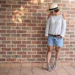 Diy Cold Shoulder Sweater