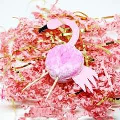 Make Someone Feel Special With This Flamingo Donut Favour!