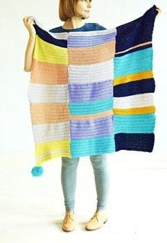 Craft for the Soul .  Free tutorial with pictures on how to crochet a granny square blanket in 5 steps by crocheting with yarn, crochet hook, and yarn needle. How To posted by IPG.  in the Yarncraft section Difficulty: Simple. Cost: Cheap.